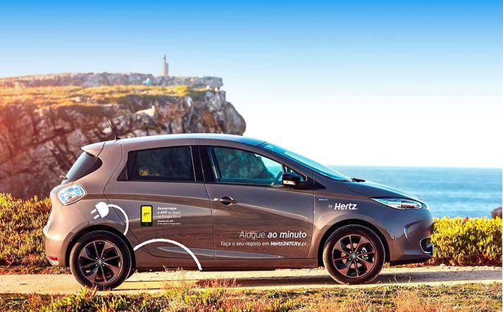 Hertz alarga serviço de car-sharing com automóveis eléctricos a Cascais