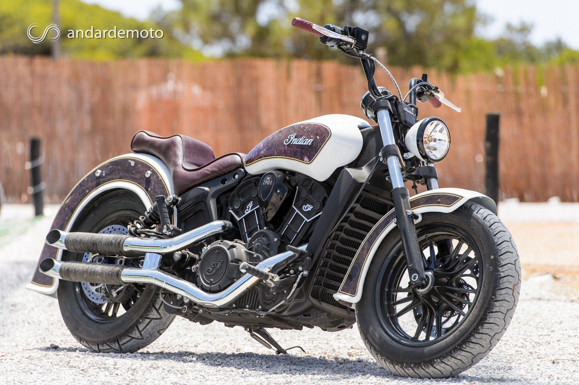 uma indian scout sixty a andar de moto epis dio 3 a transforma o motonews andar de moto. Black Bedroom Furniture Sets. Home Design Ideas