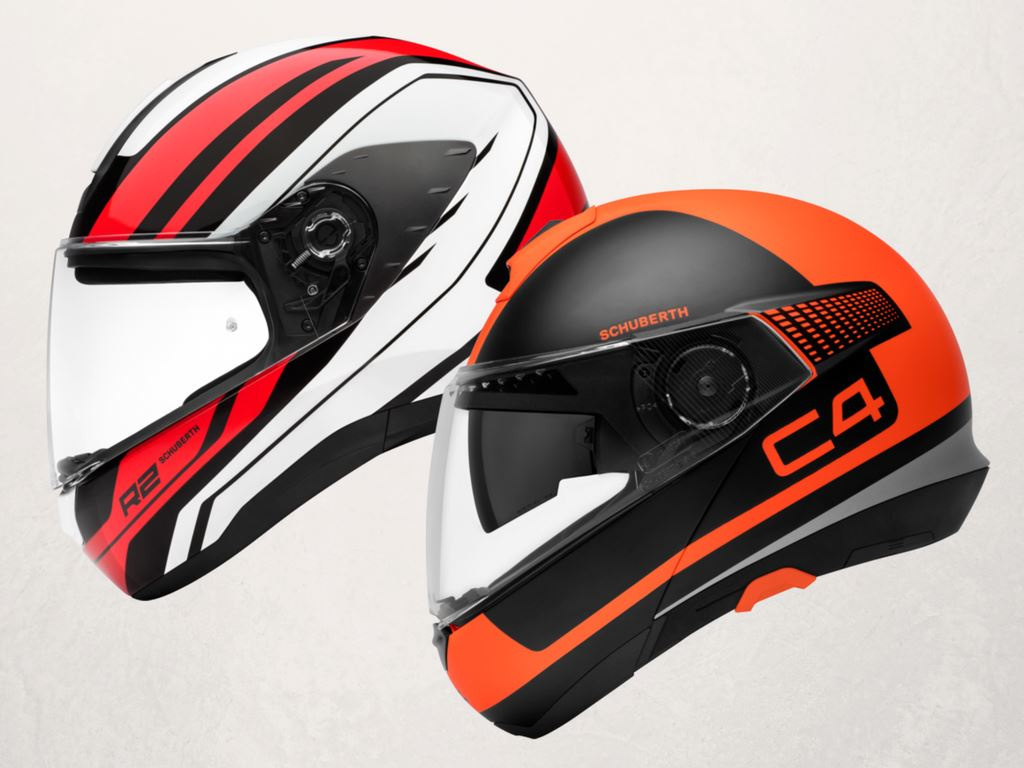 schuberth apresenta novos capacetes r2 e c4 motonews. Black Bedroom Furniture Sets. Home Design Ideas