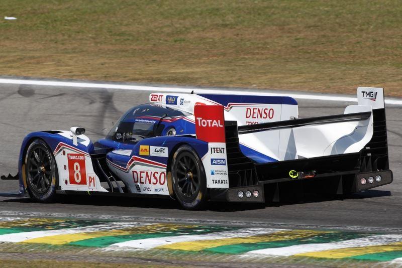 corrida no brasil termina prematuramente para a toyota TSR's Sprints TSR RC