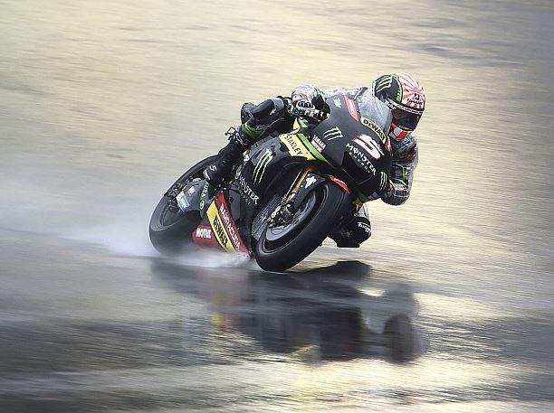Dovizioso é o mais rápido em treino marcado por chuva; Márquez cai