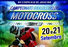 Pista da 6ª Etapa do Campeonato Brasileiro de Motocross está pronta