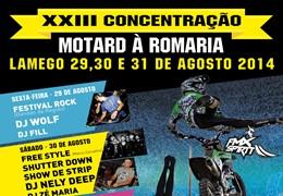 XXIII Concentração Motard à Romaria - Lamego 2014