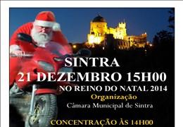 Desfile Motard de Pais Natais em Sintra