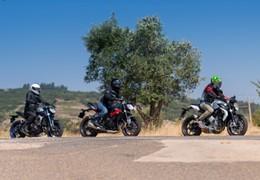 Comparativo MV Agusta Brutale 675 / Triumph Street Triple R / Yamaha MT09 - Tricilíndricas Naked de média cilindrada
