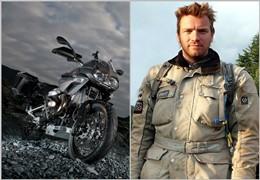 Ewan McGregor troca BMW por Moto Guzzi
