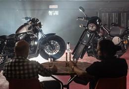 Teste duplo Yamaha XV950 Racer / Harley Davidson Sportster 48 - Um espectáculo