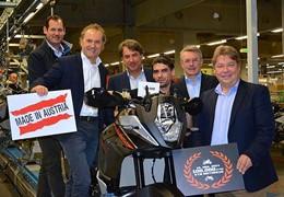 KTM bate recorde de produção em 2014