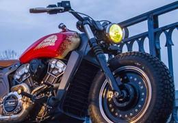 Gold Legend um tributo à Indian Motorcycles com sabor a Porto