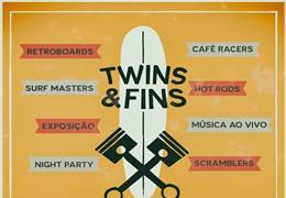 Twins & Fins - 27 e 28 de Setembro em Ribeira D'Ilhas