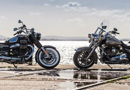 "Comparativo Harley-Davidson Road King / Moto Guzzi Eldorado - um ""Spaghetti Western"" motociclistico"