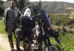 África e Volta: Um ano a viajar de moto na África do Sul