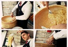 Italy Caffé: a verdadeira burrata, pasta alla forma e a esplanada de Verão