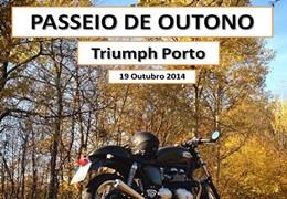 Triumph Porto - Passeio de Outono 2014