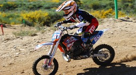 Gonçalo Silva na 3.ª prova do Campeonato Nacional de Motocross