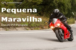 Teste Ducati 959 Panigale - Pequena Maravilha