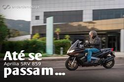 Teste Aprilia SRV 850 - até se passam!