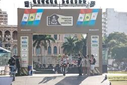 Começou o Dakar 2017