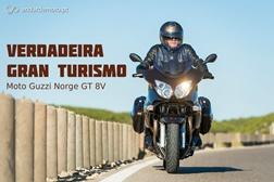 Teste Moto Guzzi Norge GT 8V - Verdadeira Grand Turismo