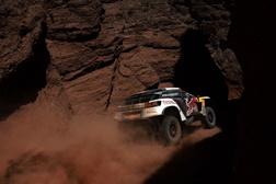 Dakar 2017: Os Peugeot 3008DKR dominam nas alturas