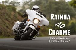 Teste Harley-Davidson Street Glide Special 2017- Rainha do charme