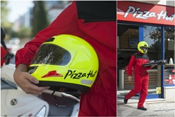 Capacetes Nau - Operação Pizza segura