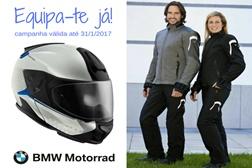 """Está a decorrer a campanha """"Equipa-te já!"""" lançada pela BMW Motorrad"""