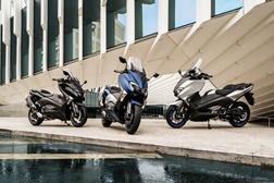 EICMA 2016: Yamaha revela scooters desportivas TMAX, TMAX SX e TMAX DX
