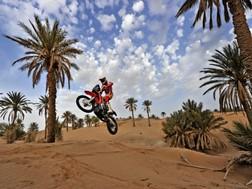 Equipa HRC a postos para o Rali de Marrocos