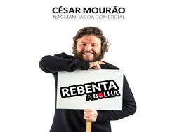 """César Mourão """"Rebenta a Bolha"""" este Natal em jogo e aplicação"""