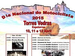 Cartaz Oficial do Dia Nacional do Motociclista 2015