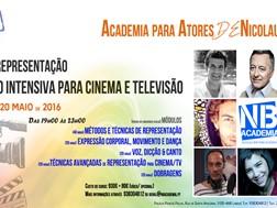 Curso Intensivo de Actores na Nicolau Breyner Academia - Inscrições abertas