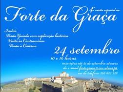 4ª Visita especial ao Forte da Graça - Elvas