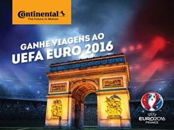 Continental Pneus Portugal oferece viagens duplas para assistir ao jogo inaugural do UEFA EURO 2016