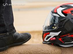 Teste de Equipamento e Acessórios de motociclismo - TCX e NEXX - Conjunto de Verão para Homem