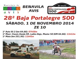 28.ª Baja Portalegre 500 vai passar por Avis