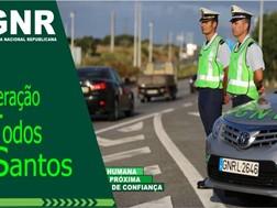 """Operação """"Todos os Santos"""" da GNR na estrada este fim-de-semana"""