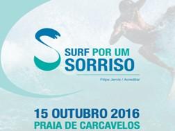 """""""Surf por um Sorriso""""  Acreditar e Filipe Jervis associam-se em evento solidário pioneiro em Portugal"""