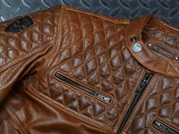 Blusão Scrambler Cognac da 4SR - Haute Couture para motociclistas
