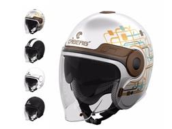 """Caberg Uptown - Um capacete """"Jet"""" urbano muito confortavel"""