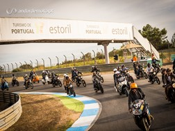 Distinguished Gentleman's Ride 2016 Lisboa - Em pista!
