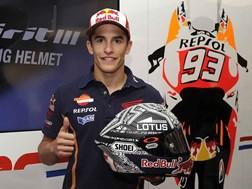 Shoei X-Spirit III - o novo capacete de Marc Marquez