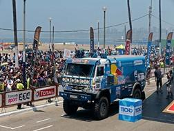 Dakar 2013 em Imagens - Camiões