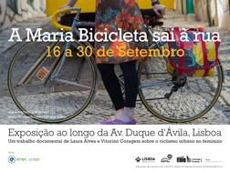 Exposição Maria Bicicleta Sai à Rua
