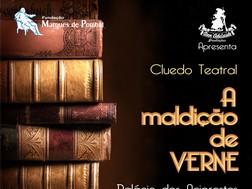 """Cluedo Teatral """"A Maldição de Verne"""" no Palácio dos Aciprestes - Linda-a-Velha"""