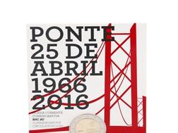 50 anos da Ponte 25 de Abril assinalados em moeda