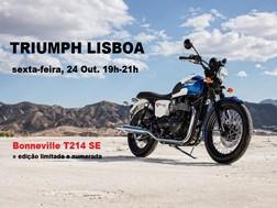 Triumph Lisboa apresenta nova Bonneville T214 SE Limited Edition