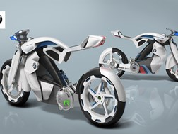 Moto futurista para o MotoGP