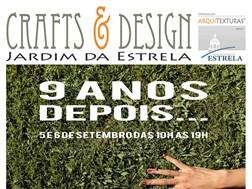 Crafts & Design no Jardim da Estrela celebra 9.º Aniversário