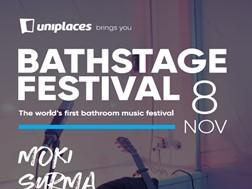 Uniplaces coloca artistas portugueses a cantar no chuveiro durante o Web Summit - O 1º Bathroom Music Festival do Mundo